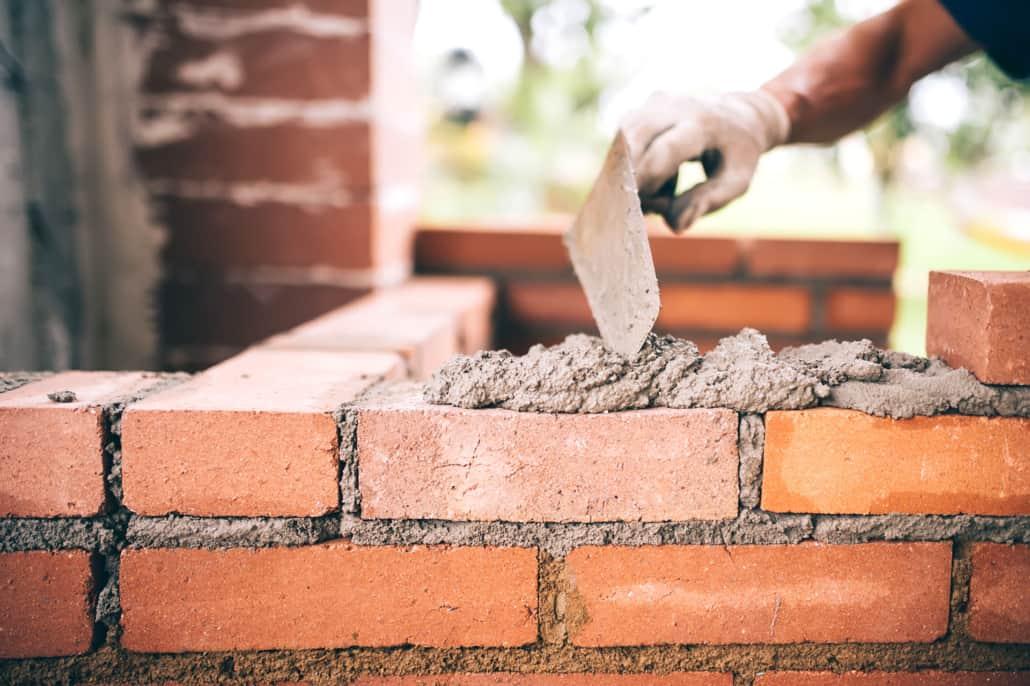 Lægning af mursten