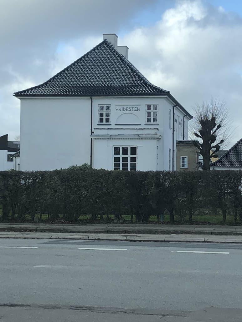 Hvidesten stor bolig