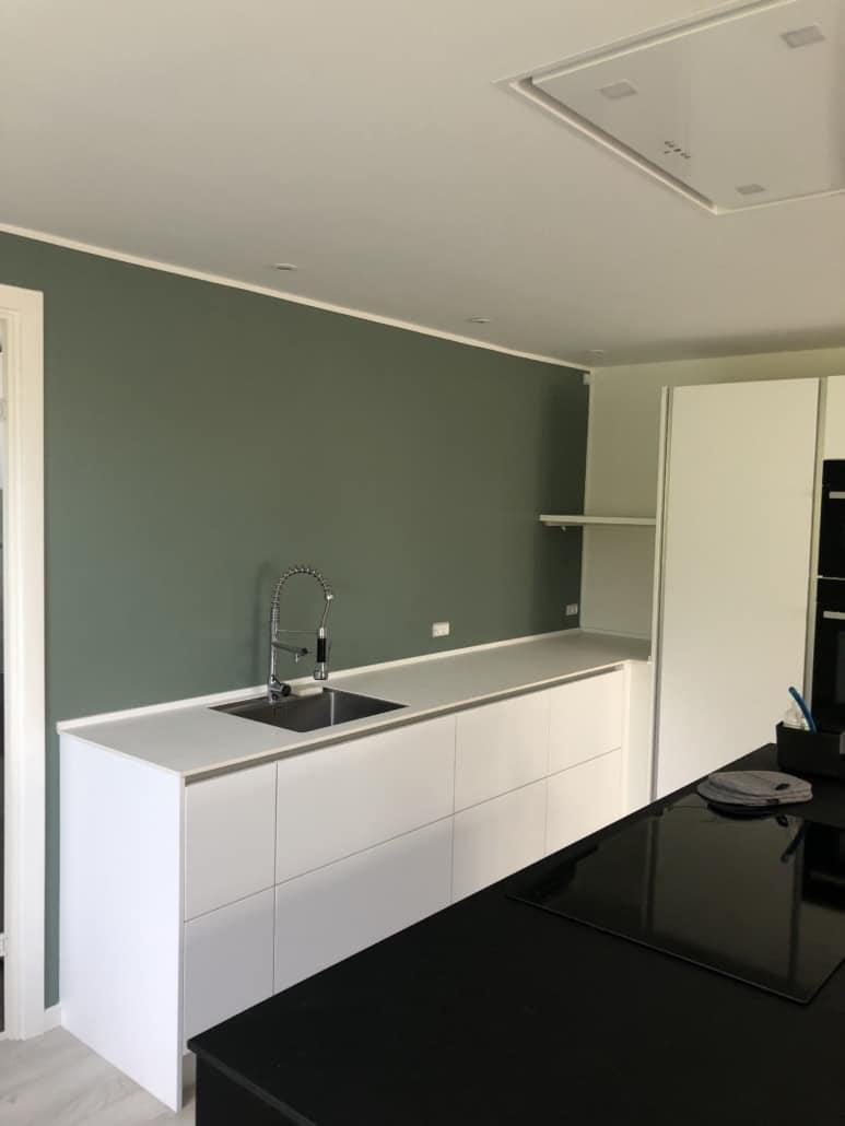 Renovering af køkken og vægge