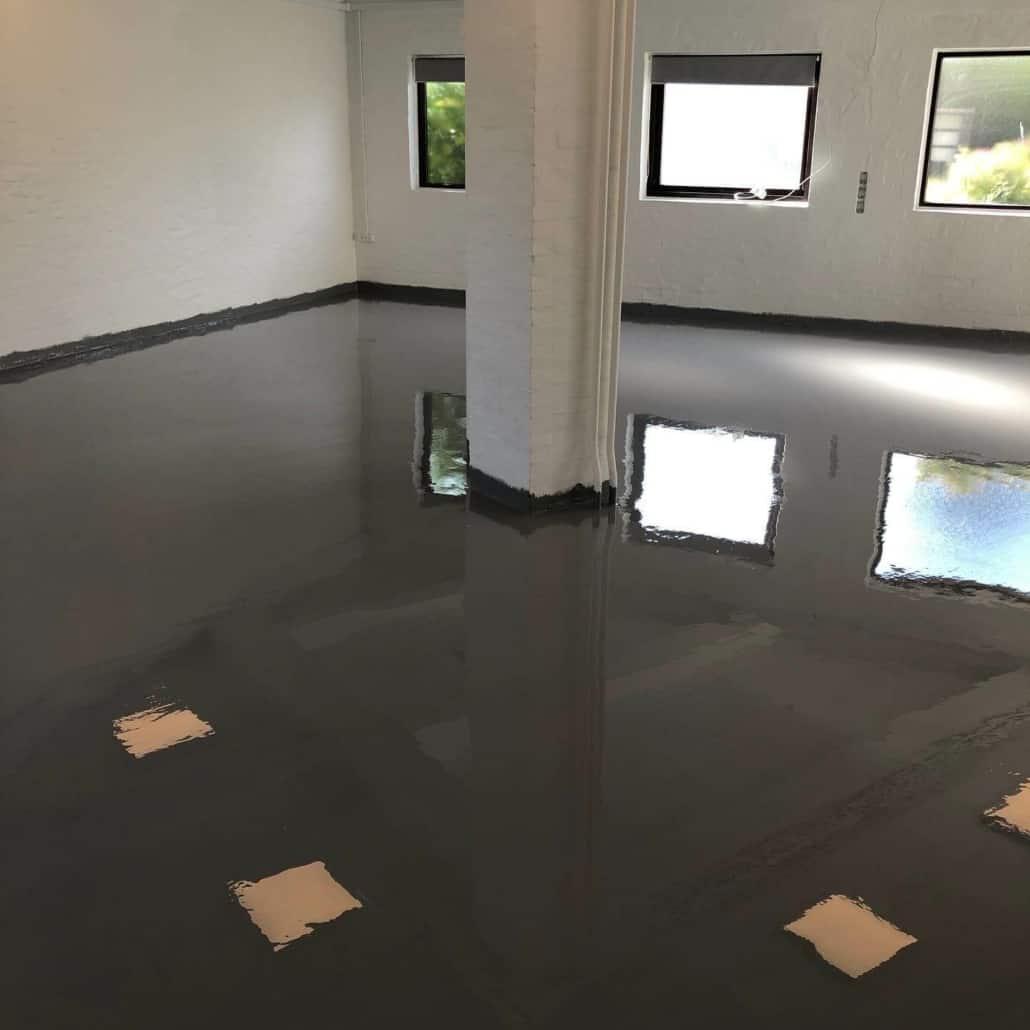 Nyt gulv i bolig